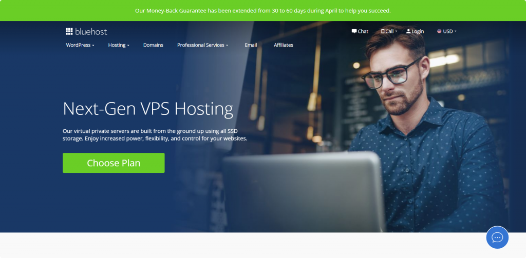 Bluehost windows VPS