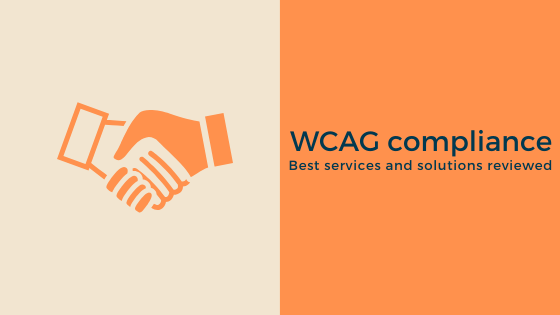 WCAG compliance solutions and services